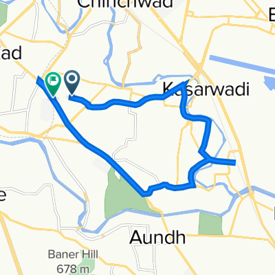 Park Royale Road, Pimpri Chinchwad to Natraj Gas Agency Road, Pimpri Chinchwad