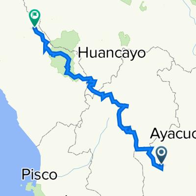 Peru, Totos nach Carretera Central 1910