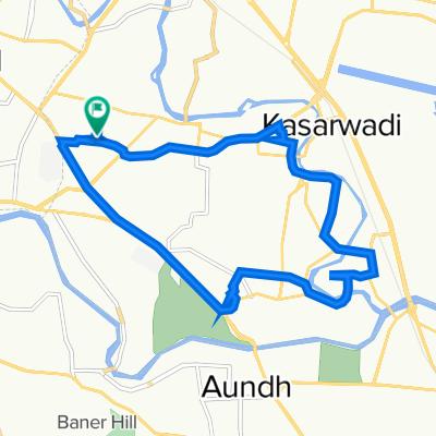 Park Royale Road, Pimpri Chinchwad to Park Royale Road, Pimpri Chinchwad