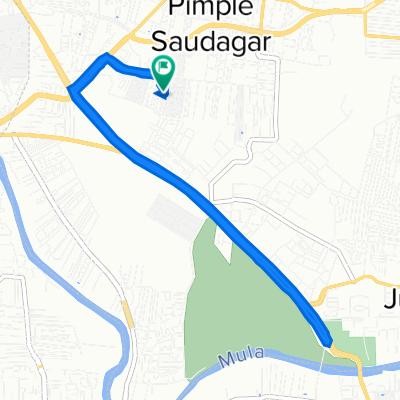 Pimple Saudagar, Pimpri-Chinchwad to B-3/8, Pune