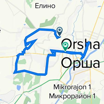От Unnamed Road до улица Мира 35, Орша