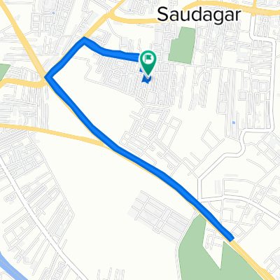 Pimple Saudagar, Pimpri-Chinchwad to Pimple Saudagar, Pimpri-Chinchwad