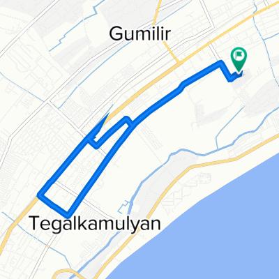 Jalan Rinenggo Asri IV 123, Kecamatan Cilacap Utara to Jalan Rinenggo Asri IV 123, Kecamatan Cilacap Utara