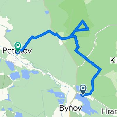 Jakule - Petříkov pěšky