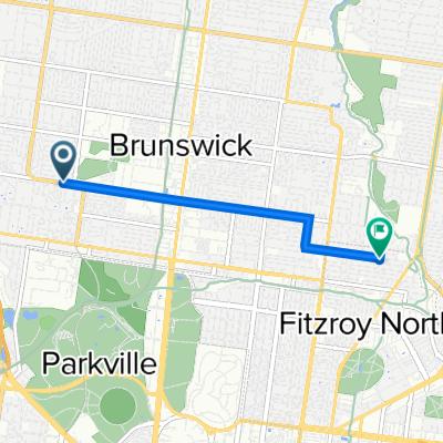 115 Dawson Street, Brunswick West to 144 Miller Street, Fitzroy North