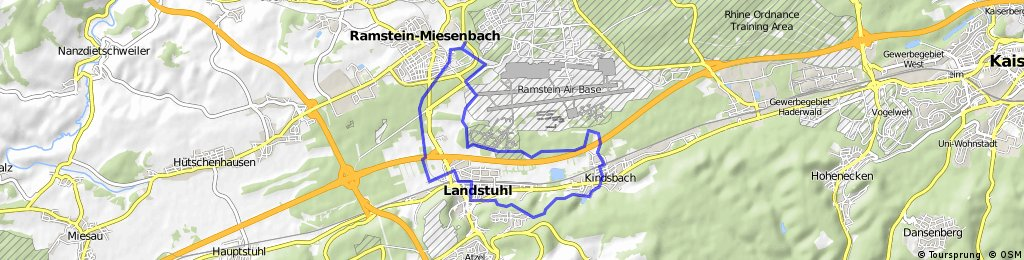 Ramstein, Mordamühle, Bärenloch | Bikemap - Deine Radrouten