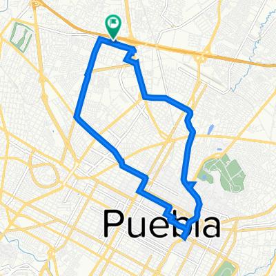 De Independencia Norte 310, Heroica Puebla de Zaragoza a Independencia Norte 310B, Heroica Puebla de Zaragoza