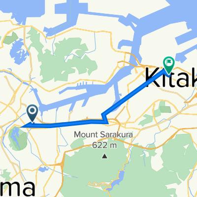 Tobata to Mizumaki route
