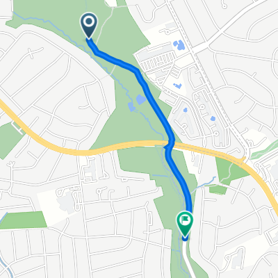 Route to Sligo Creek Pkwy, Silver Spring