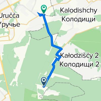 От Unnamed Road до улица Основателей 25b, Минск