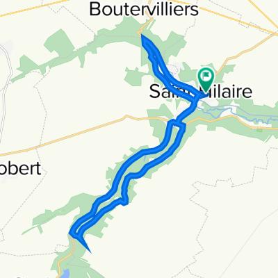 De 1 Route de la Pierre Levée, Saint-Hilaire à 7 Route de la Pierre Levée, Saint-Hilaire