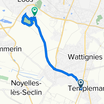 De 264 Rue du Général de Gaulle, Wattignies à 1 Chemin de Flesquières, Loos
