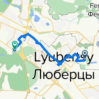 От 1-я Вольская улица 15, Некрасовка до Волгоградский проспект 191, Москва
