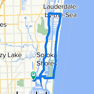 1911 NE Eighth Ct, Fort Lauderdale to 1911 NE Eighth Ct, Fort Lauderdale
