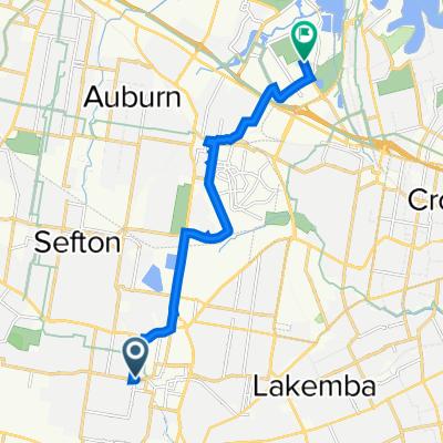 Bankstown to Australia Avenue 11, Sydney Olympic Park