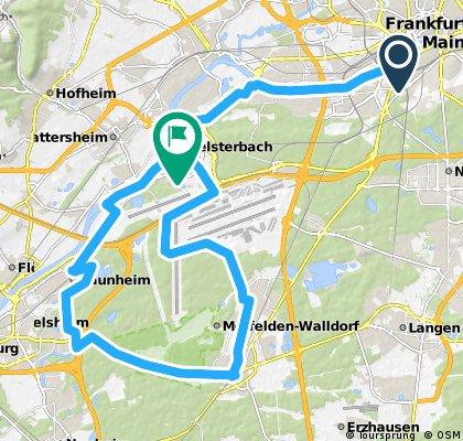 Flughafen-Rüsselsheim