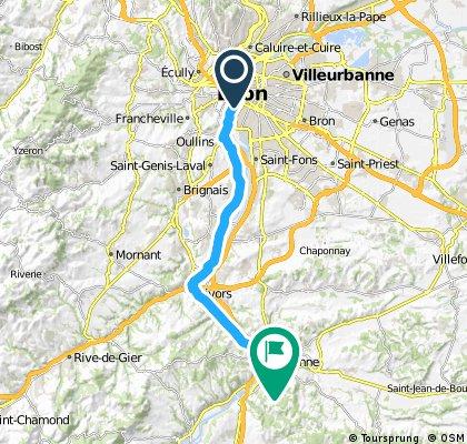 Lyon - Vienne par givors