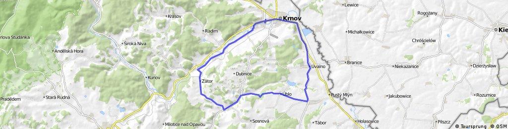 2.15 Krnov-Zátor -Brumovice-Krnov