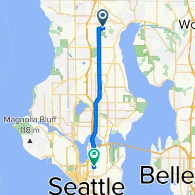 1824 NE 170th St, Shoreline to 512 10th Ave E, Seattle
