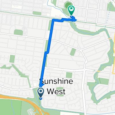 34A Sunrise Drive, Sunshine West to Kororoit Creek Trail, Albion