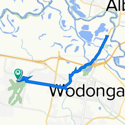 Iron Way 20, West Wodonga to Iron Way 35, West Wodonga