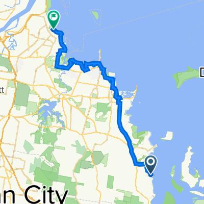 5-9 Weinam Street, Redland Bay to 157–171 Wynnum Esplanade, Wynnum