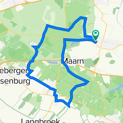 Woudenberg naar Woudenberg