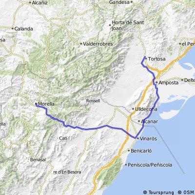 Ebro 2007 Etap 7- Tortosa-Morella