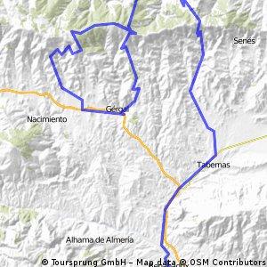 Vueta a Espana 2006 - Stage 16 (Almería - Astronomical Observatory of Calar Alto)