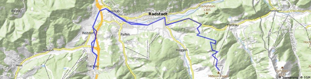 Altenmarkt - Radstadt - Trinkeralm