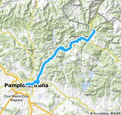 1. Roncesvalles-Pamplona