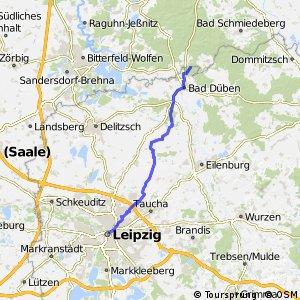 Radroute Berlin Leipzig [DE-SN (Sachsen)]