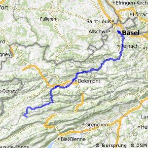 rcn 23 - Basel–Franches-Montagnes (Basel–Tramelan)