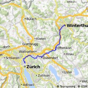 rcn 45 - Etappe 2 (Winterthur-Zürich)