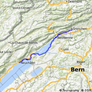 rcn 50 - Étape 2 (Grenchen-Neuchâtel)