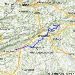 ncn 5 - Etappe 4 (Aarau-Solothurn)