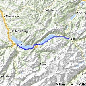 ncn 8 - Etappe 2 (Meiringen-Spiez)
