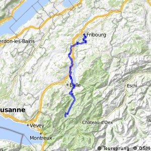 ncn 4 - Etappe 7 (Fribourg-Montbovon)