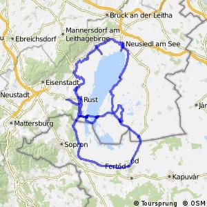 Neusiedler See Radweg Varianten