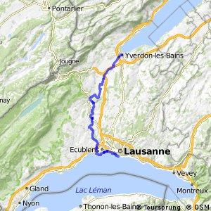 ncn 5 - Etappe 7 (Yverdon-Lausanne)