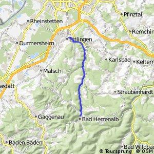 Ettlingen-Bad Herrenalb