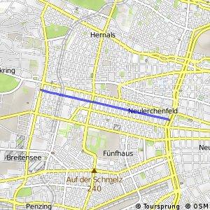 Radroute Hasnerstraße
