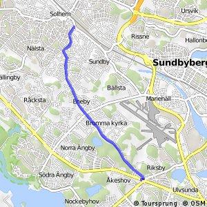 Regionalt cykelnät Stockholm (Spångastråket)