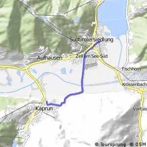 Tauernradweg - Variante Kaprun - Zell am See
