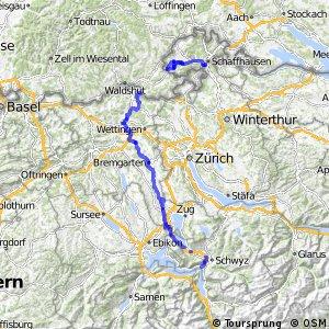 rcn 77 - Rigi–Reuss–Klettgau (Brunnen–Schaffhausen)