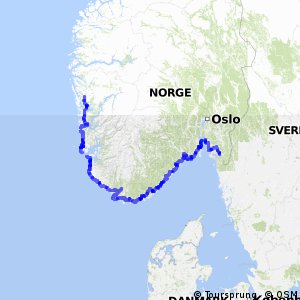 EuroVelo 12 - part Norway