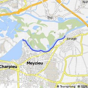 Berges du Canal de Jonage