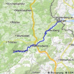 Radroute Wallenstein Nordroute