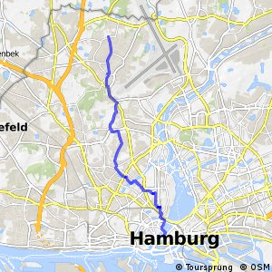 Hamburg Veloroute 3