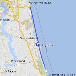 East Coast Greenway (St. Johns County, FL)